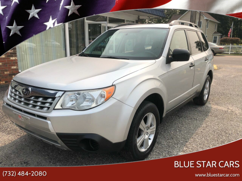 2011 Subaru Forester for sale at Blue Star Cars in Jamesburg NJ