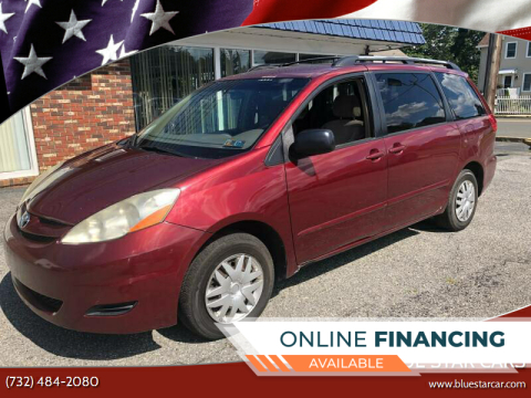 2008 Toyota Sienna for sale at Blue Star Cars in Jamesburg NJ
