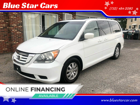2010 Honda Odyssey for sale at Blue Star Cars in Jamesburg NJ