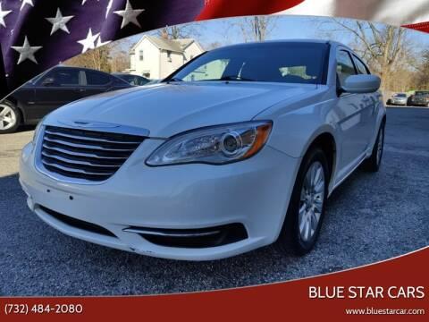 2013 Chrysler 200 for sale at Blue Star Cars in Jamesburg NJ