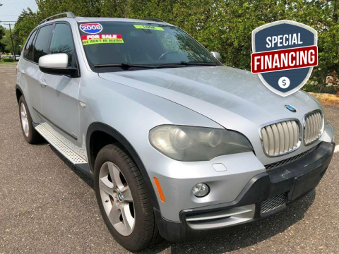 2008 BMW X5 for sale at Blue Star Cars in Jamesburg NJ