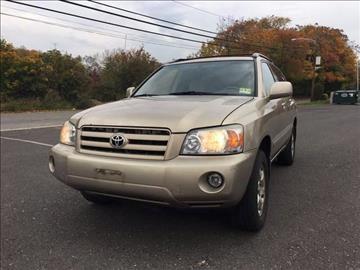 2004 Toyota Highlander for sale in Jamesburg, NJ