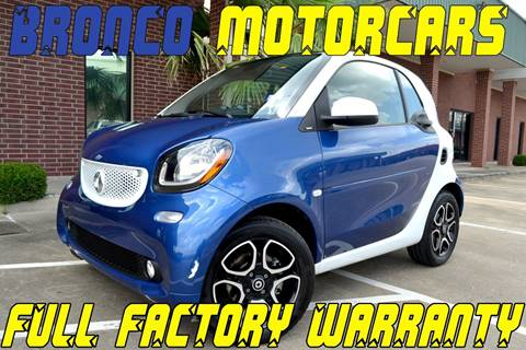 2016 Smart fortwo for sale in Houston, TX