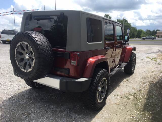 2008 Jeep Wrangler Unlimited 4x4 Sahara 4dr SUV - Decatur AL