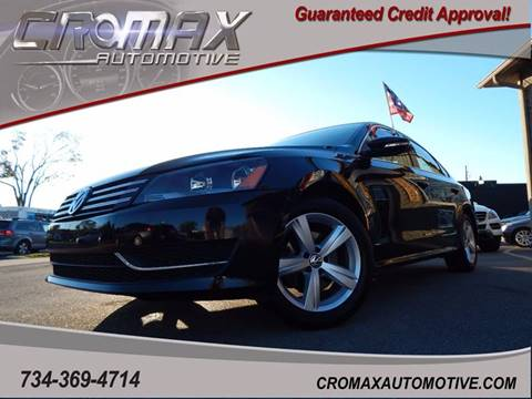 2012 Volkswagen Passat for sale in Ann Arbor, MI