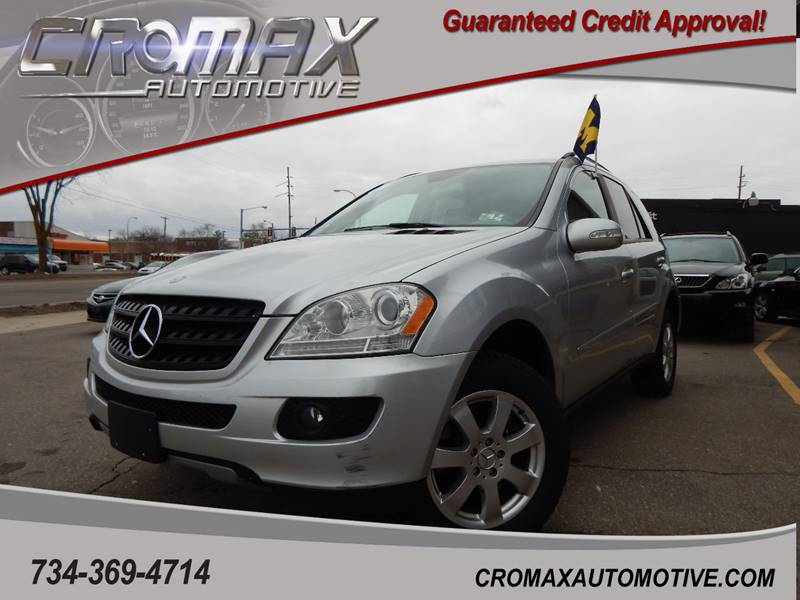 2006 Mercedes Benz M Class For Sale At Cromax Automotive In Ann Arbor MI