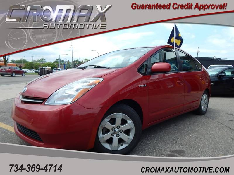 2007 Toyota Prius For Sale At Cromax Automotive In Ann Arbor MI