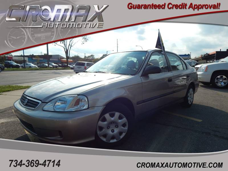 2000 Honda Civic For Sale At Cromax Automotive In Ann Arbor MI