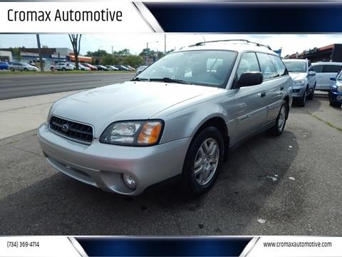 Subaru Ann Arbor >> Subaru Outback For Sale In Ann Arbor Mi Cromax Automotive