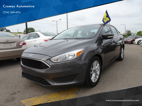 2015 Ford Focus for sale at Cromax Automotive in Ann Arbor MI