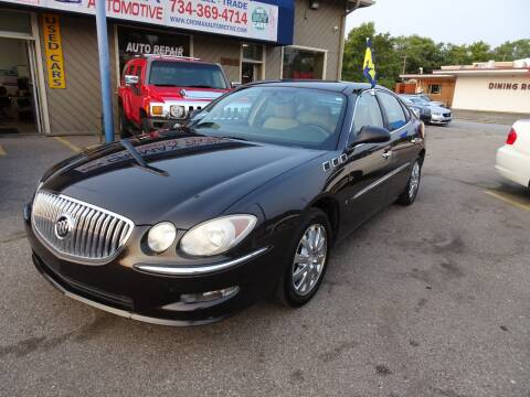 2008 Buick LaCrosse for sale at Cromax Automotive in Ann Arbor MI