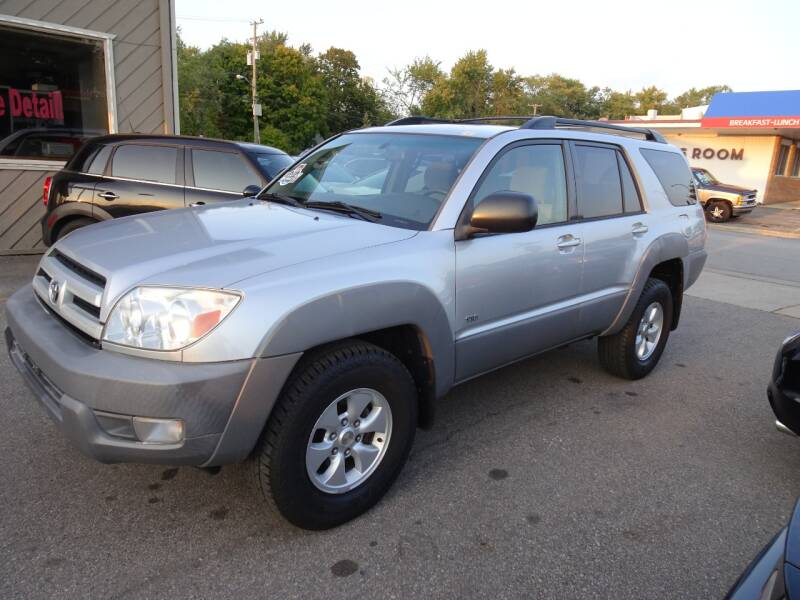 2003 Toyota 4Runner for sale at Cromax Automotive in Ann Arbor MI