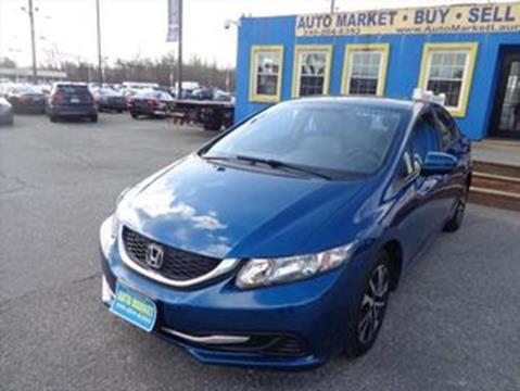2015 Honda Civic for sale in Laurel, MD