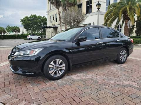 2015 Honda Accord for sale in Margate, FL