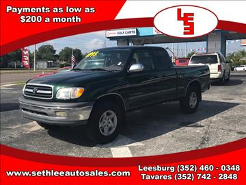 2002 Toyota Tundra for sale in Tavares, FL
