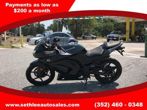 2012 Kawasaki EX250 for sale in Tavares, FL