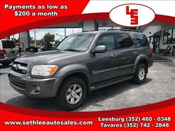 2005 Toyota Sequoia for sale in Tavares, FL
