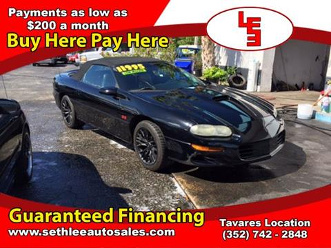 2002 Chevrolet Camaro for sale in Tavares, FL
