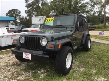1997 Jeep Wrangler for sale in Tavares, FL