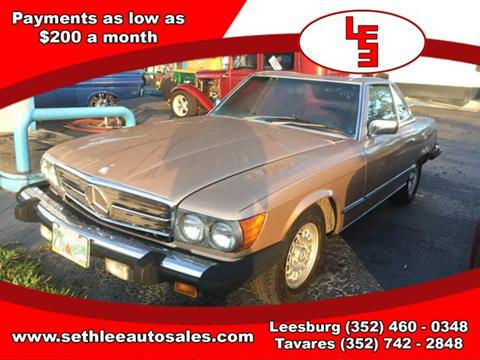 1983 Mercedes-Benz 380-Class for sale in Tavares, FL
