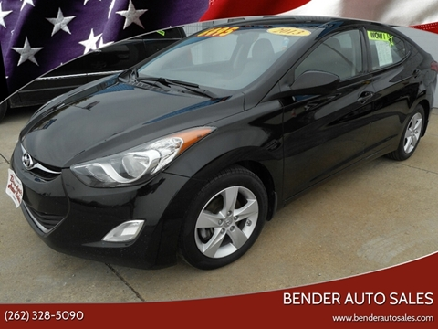 2013 Hyundai Elantra for sale in Richfield, WI
