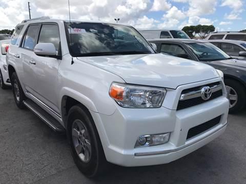 2013 Toyota 4Runner for sale at FLORIDA CAR TRADE LLC in Davie FL