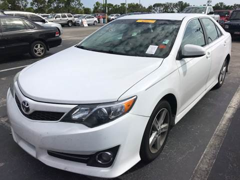 2012 Toyota Camry for sale in Davie, FL