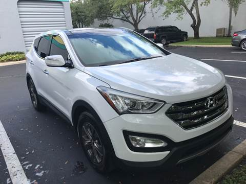 2013 Hyundai Santa Fe Sport for sale in Davie, FL