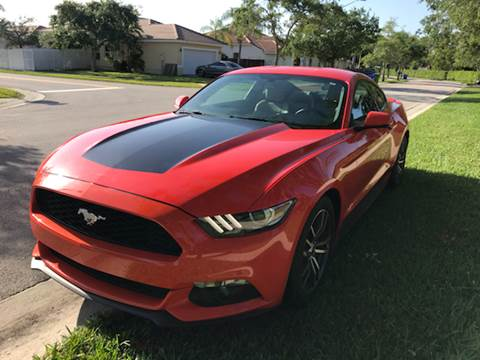 2015 Ford Mustang for sale at FLORIDA CAR TRADE LLC in Davie FL