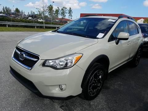 2013 Subaru XV Crosstrek for sale at FLORIDA CAR TRADE LLC in Davie FL