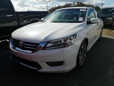 2013 Honda Accord for sale at FLORIDA CAR TRADE LLC in Davie FL