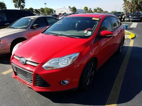 2013 Ford Focus for sale at FLORIDA CAR TRADE LLC in Davie FL