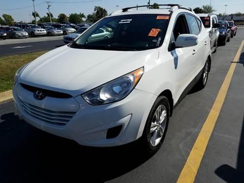 2012 Hyundai Tucson for sale at FLORIDA CAR TRADE LLC in Davie FL