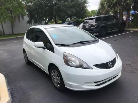 2013 Honda Fit for sale at FLORIDA CAR TRADE LLC in Davie FL