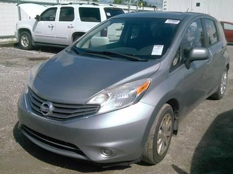 2014 Nissan Versa Note for sale at FLORIDA CAR TRADE LLC in Davie FL
