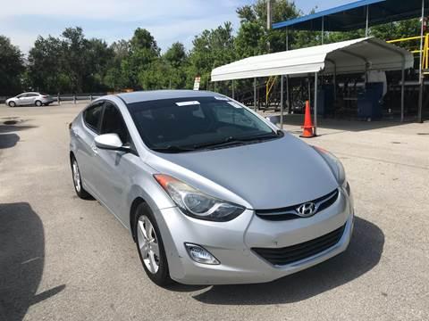 2013 Hyundai Elantra for sale at FLORIDA CAR TRADE LLC in Davie FL