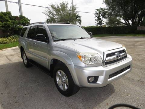 2007 Toyota 4Runner for sale at FLORIDA CAR TRADE LLC in Davie FL
