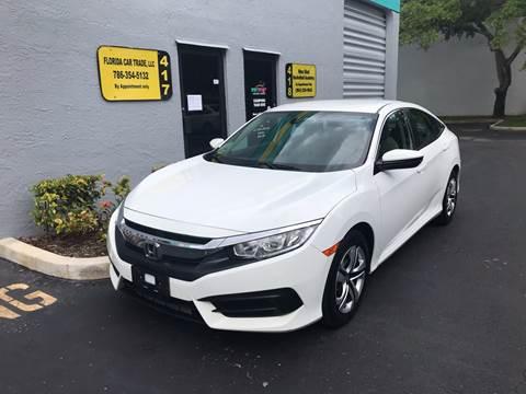 2016 Honda Civic for sale in Davie, FL
