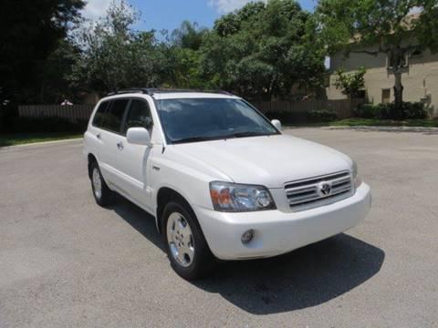 2006 Toyota Highlander for sale at FLORIDA CAR TRADE LLC in Davie FL