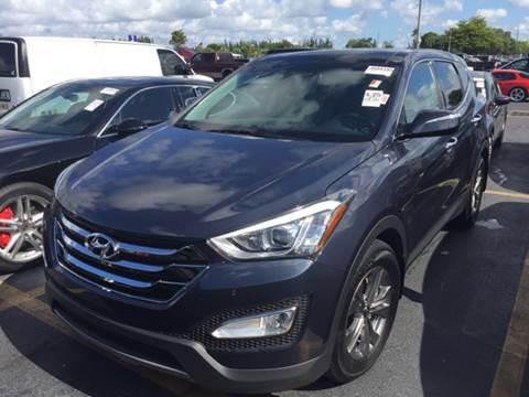 2013 Hyundai Santa Fe Sport for sale at FLORIDA CAR TRADE LLC in Davie FL