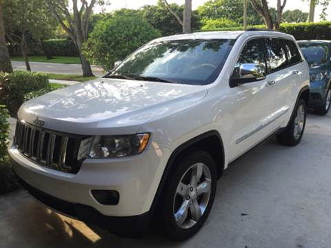 2011 Jeep Grand Cherokee for sale at FLORIDA CAR TRADE LLC in Davie FL