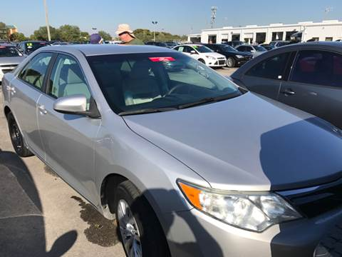 2012 Toyota Camry for sale at FLORIDA CAR TRADE LLC in Davie FL
