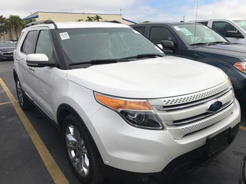 2011 Ford Explorer for sale at FLORIDA CAR TRADE LLC in Davie FL