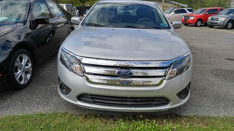 2012 Ford Fusion for sale in Saint Albans, WV