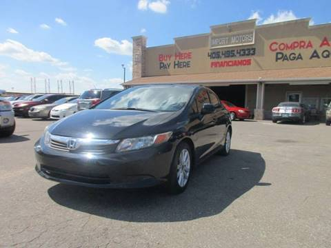 2012 Honda Civic for sale in Bethany, OK
