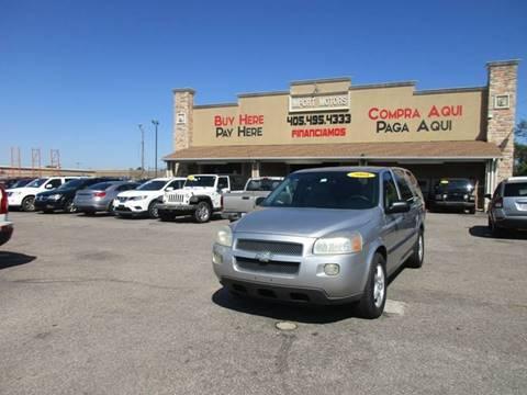 2008 Chevrolet Uplander for sale in Bethany, OK