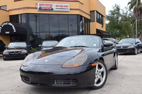2001 Porsche Boxster for sale in Fernpark, FL