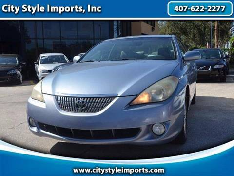 2005 Toyota Camry Solara for sale in Fernpark FL