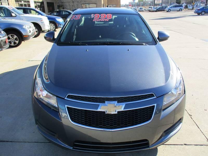 2013 Chevrolet Cruze 1LT Auto 4dr Sedan w/1SD - Waterloo IA