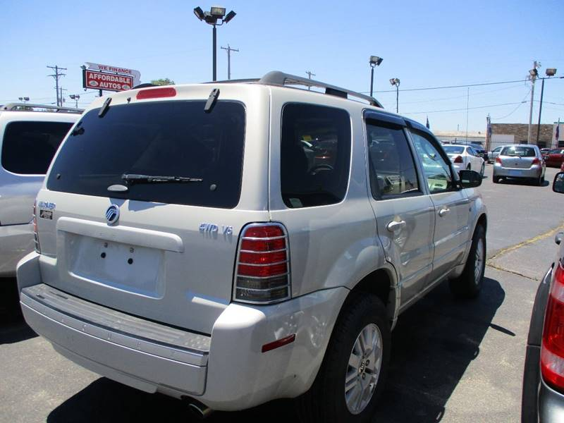 2007 Mercury Mariner AWD Luxury 4dr SUV - Wichita KS